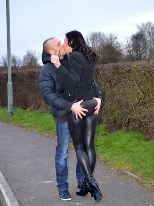 image Milf in leather boots has anal sex