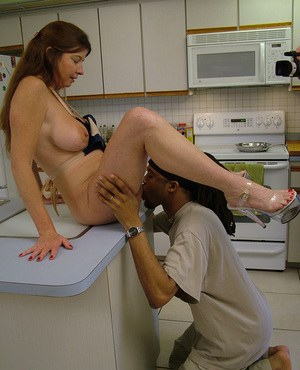 MILF In Kitchen Porn